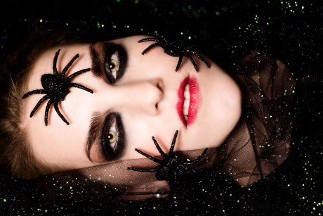 Shooting – Spider woman mit Hannah