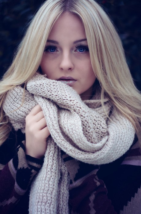 Wintershooting mit Kirsten