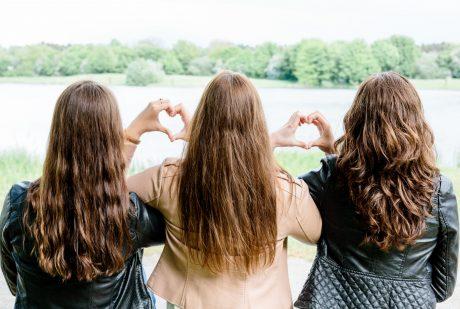 Freundschafts-Shooting mit Sarina, Saskia & Michelle