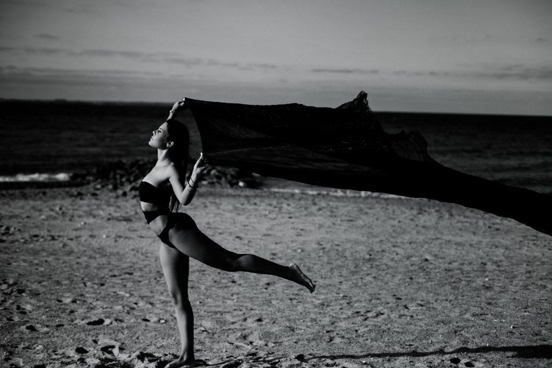 Strand-Shooting mit Nora