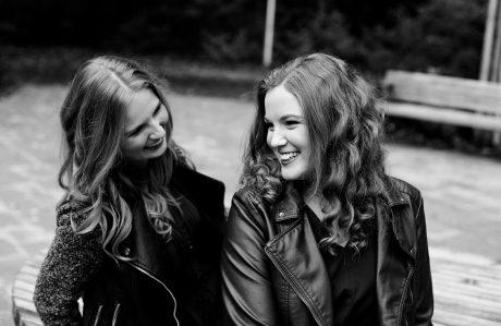 Freundschafts-Shooting im Herbst mit Andrea und Sabina