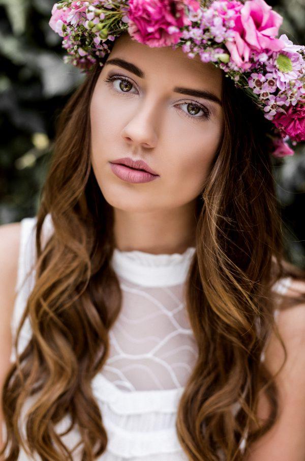 Blumen-Shooting mit Annika