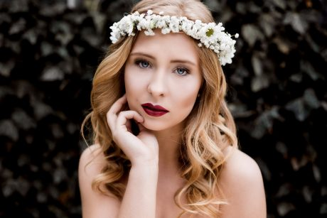 Blumen-Shooting mit Sophie