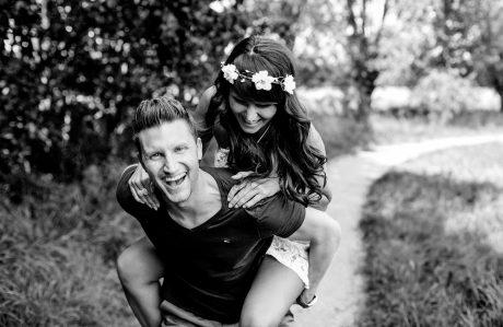 Paar-Shooting mit Eva und Daniel