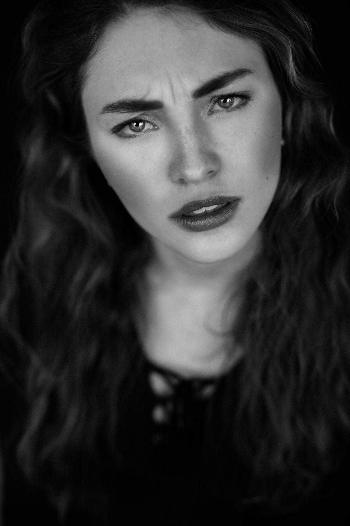 Portrait-Shooting mit Lea